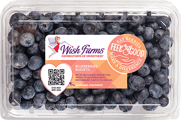 Image of Wish Farms Blueberry Clamshell