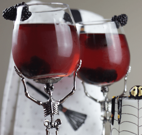 Spooky Blackberry Iced Tea