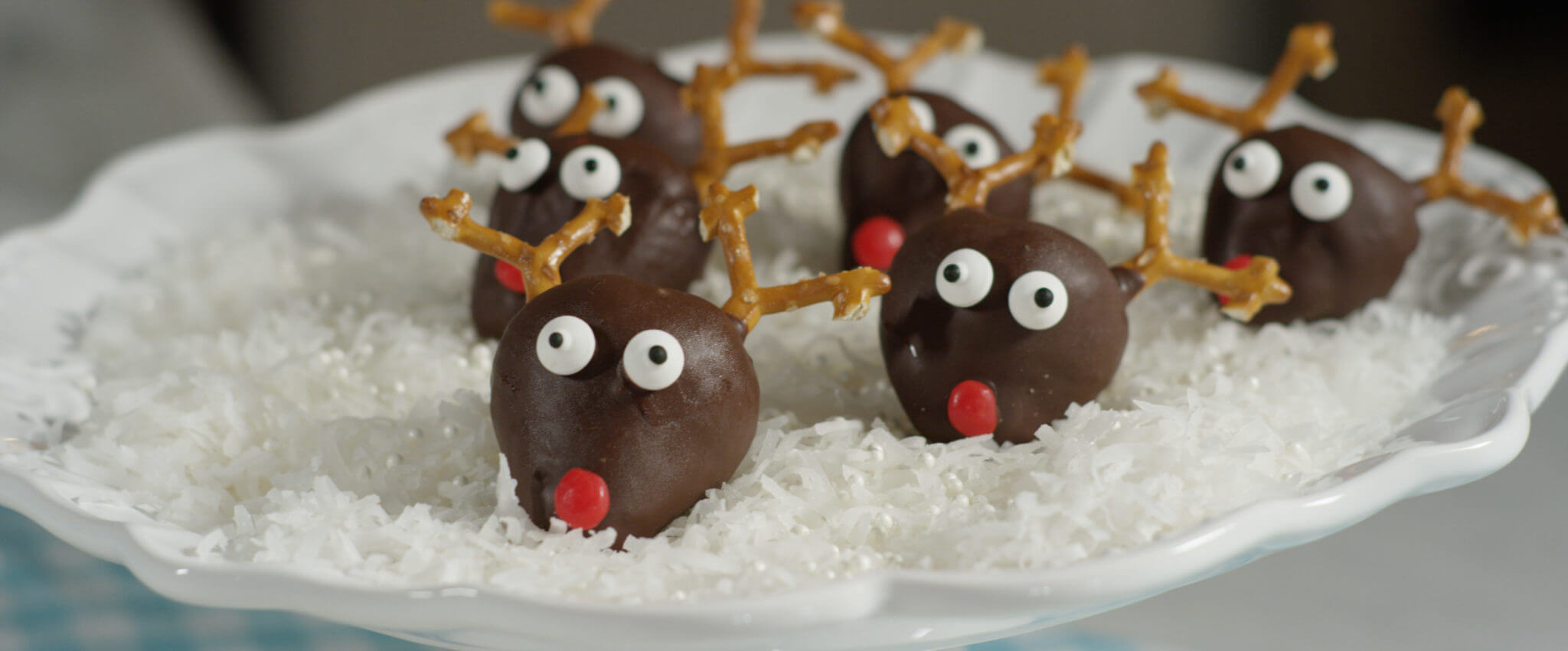 Dipped Strawberry Rudolph