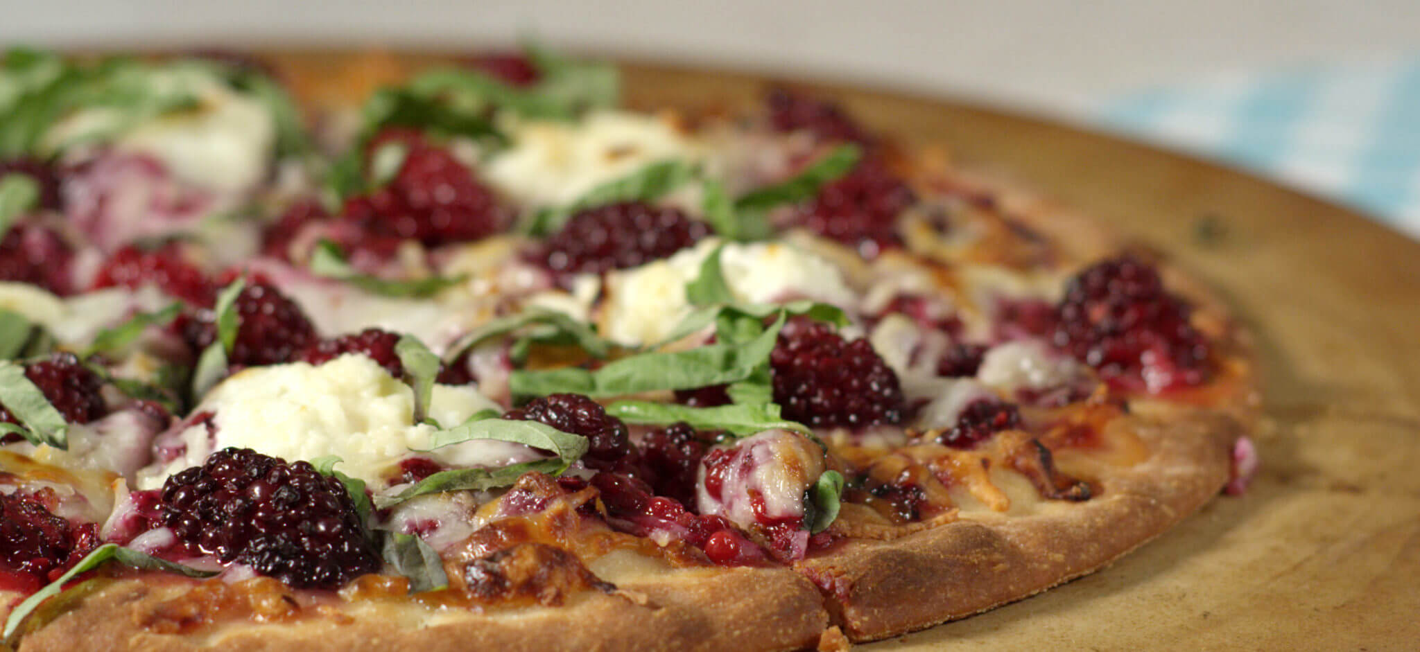 Blackberry Ricotta Flatbread