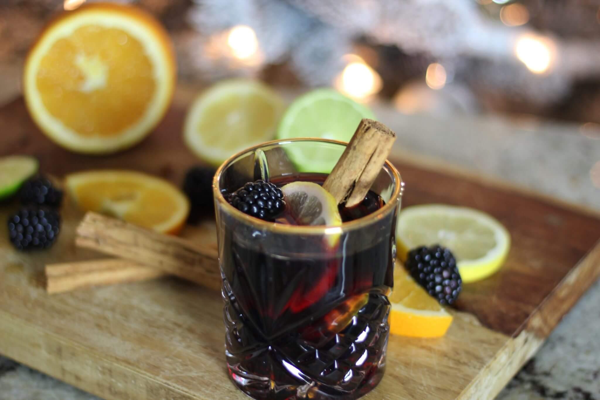 Blackberry Recipe Mulled Wine Wish Farms Florida Blackberries