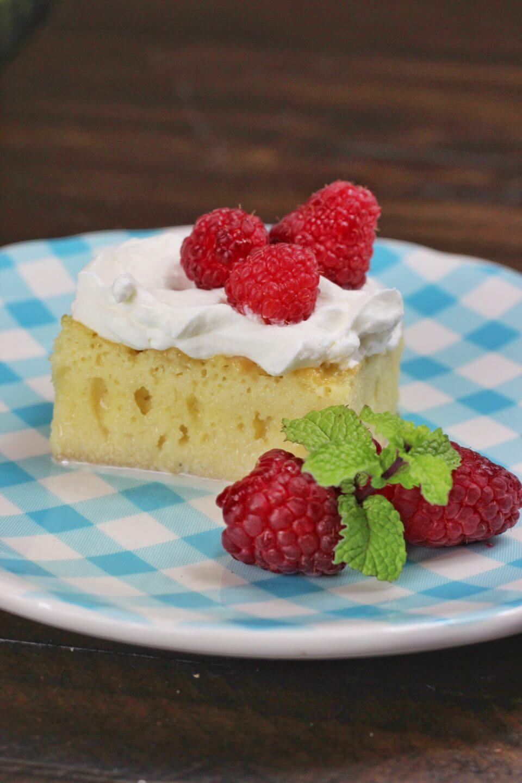 Raspberry Tres Leches Cake