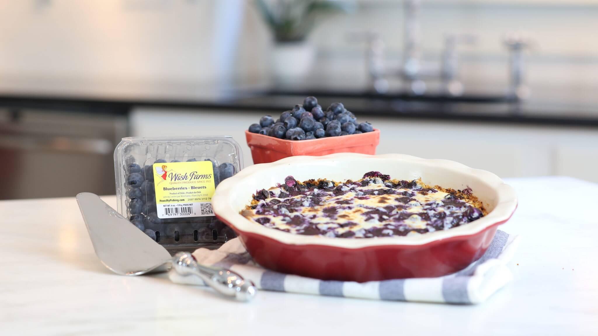 Wish Farms Blueberry Pie