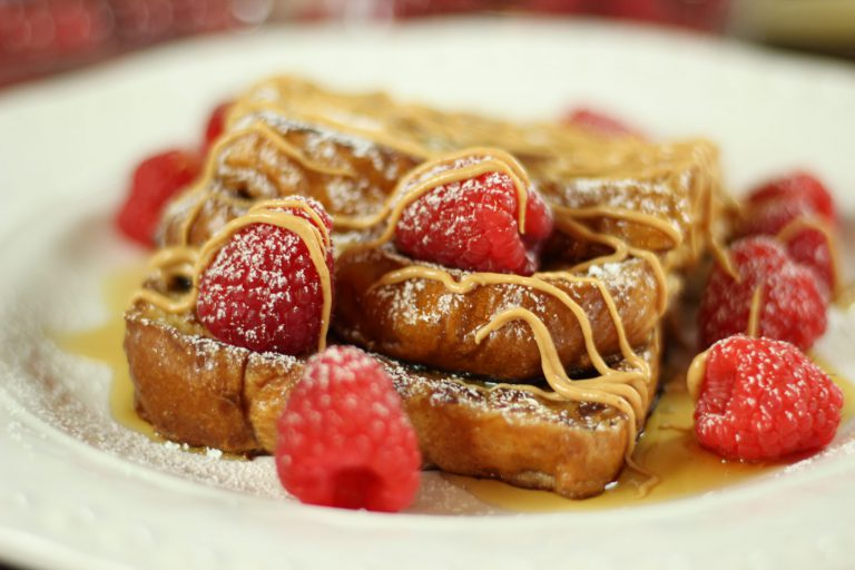 Raspberry Pumpkin French Toast