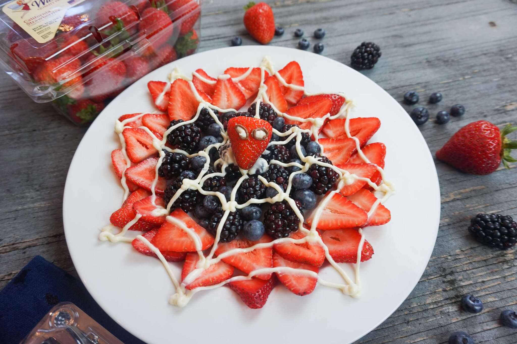 Spider Man Dessert