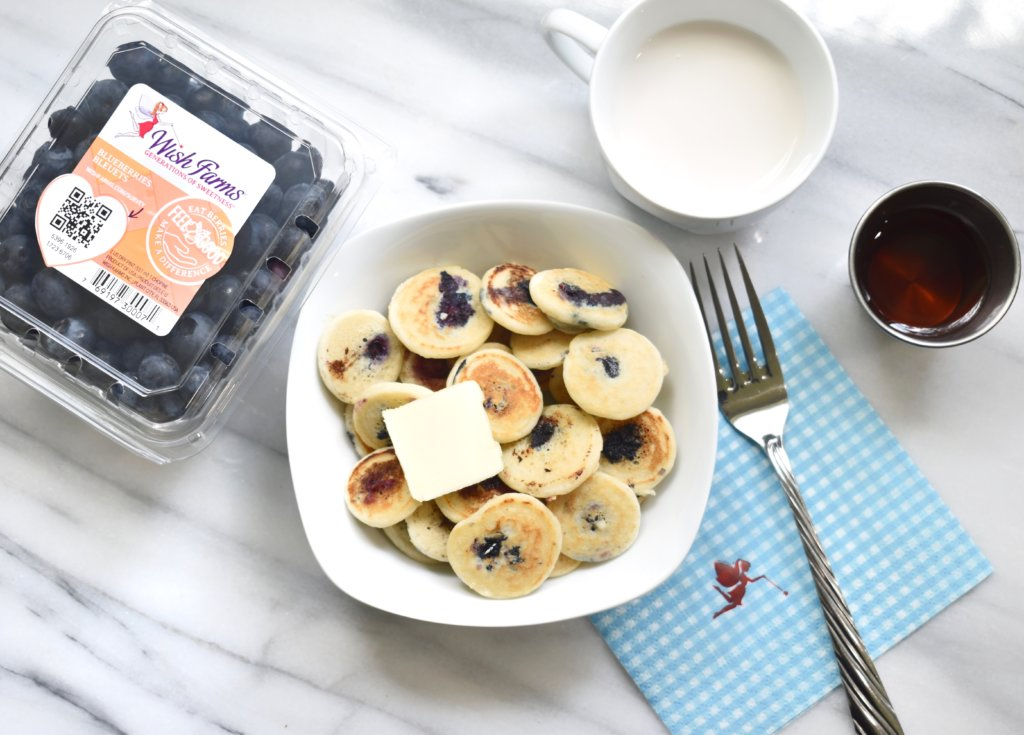 blueberry mini pancake cereal recipe