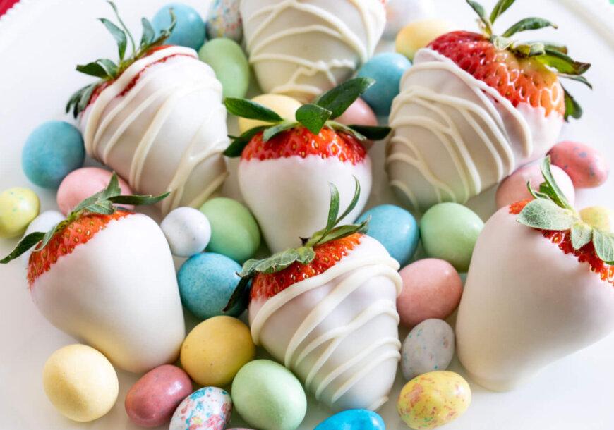 Easter Dipped Berries